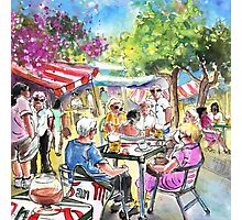 Friday Morning Market In Turre Photographic Print