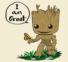 Guardians of the Galaxy - I Am Groot! by SamSaab