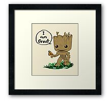 Guardians of the Galaxy - I Am Groot! Framed Print