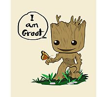 Guardians of the Galaxy - I Am Groot! Photographic Print