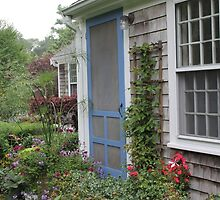 Cottage Garden by Robin Raible