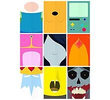 Minimal Adventure time Vol:1 Photographic Print