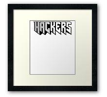 Hackers Framed Print