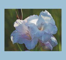 White Gladiolus Kids Clothes