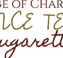 College of Charleston Cougarettes Sticker