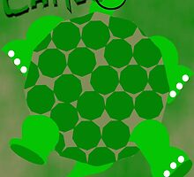 Camo Turtle by PharrisArt