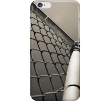 Chain Link Fence iPhone Case/Skin