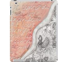 Gift of Unconditional Love iPad Case/Skin