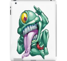 ojama green yugioh iPad Case/Skin