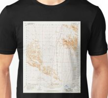 USGS TOPO Map Arizona AZ Midway 314800 1958 62500 Unisex T-Shirt