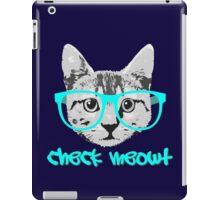 Check Meowt - Funny Saying iPad Case/Skin