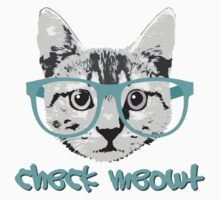 Check Meowt - Funny Saying Kids Tee