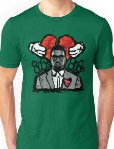 Kanye 808's artistic print Unisex T-Shirt