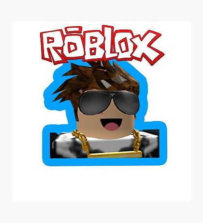 Roblox Photographic Print
