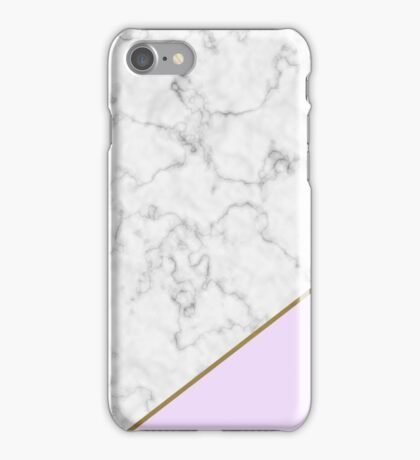 Lilac Marble iPhone Case/Skin