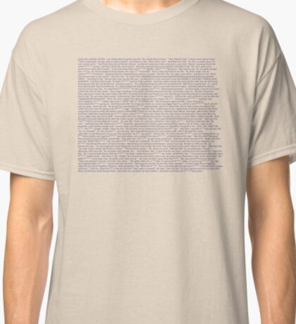 The Drunk History of Punk Rock Classic T-Shirt
