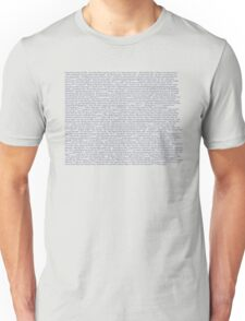 The Drunk History of Punk Rock Unisex T-Shirt