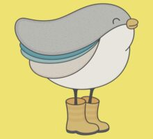 bird in boots Kids Clothes