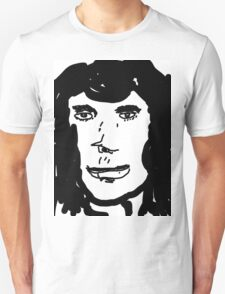 late 80's glam metal singer from hair band Unisex T-Shirt