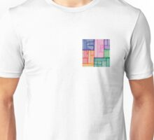 Squares and rectangles Unisex T-Shirt
