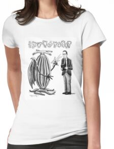 HP Lovecraft and Elder Thing T-Shirt