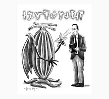 HP Lovecraft and Elder Thing Unisex T-Shirt