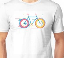 Unisex Bicycle Illustration Unisex T-Shirt