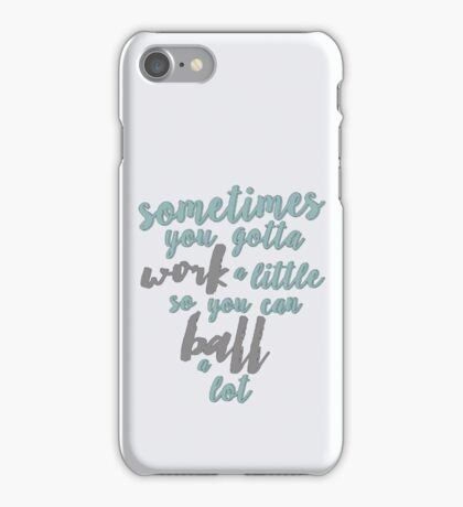Tom Haverford Quote- Parks and Rec iPhone Case/Skin