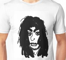 late 80's glam metal guitarist from hair band Unisex T-Shirt