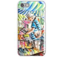 Book Stall on Turre Market iPhone Case/Skin