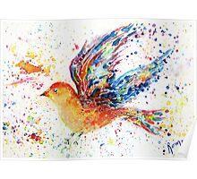 Wings III - Birds in Flight Series Poster