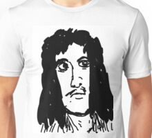 late 80's glam metal bassist from hair band Unisex T-Shirt