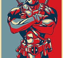 Deadpool is a Hero by onthemeander