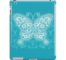 Happy Butterfly Pattern iPad Case/Skin