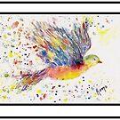 Wings - Birds in Flight Series by Robin Monroe