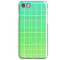 Green Grid iPhone Case/Skin