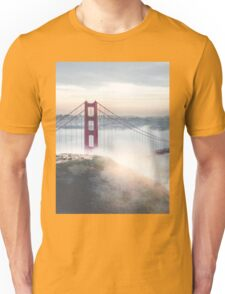 Golden Gate Bridge fog Unisex T-Shirt