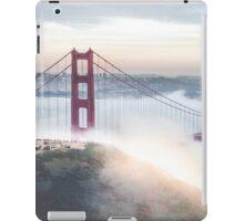 Golden Gate Bridge fog iPad Case/Skin