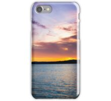 Bold Clouds Over Lake Martin iPhone Case/Skin
