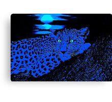 Jungle Blues Canvas Print