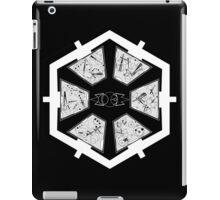 The Sith Code in Sherman's Circular Gallifreyan iPad Case/Skin