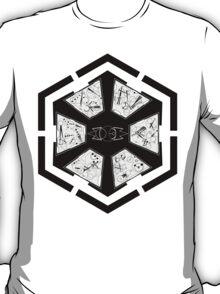 The Sith Code in Sherman's Circular Gallifreyan T-Shirt