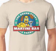 Drunk Puppy Martini Bar Unisex T-Shirt