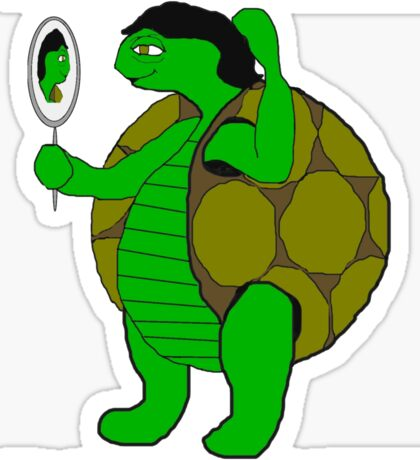 The Tortoise and the Hair Sticker