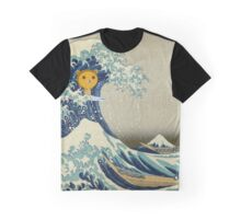 The great wave of Kuma Graphic T-Shirt