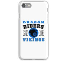How to train you Dragon (Dragon Riders Black) iPhone Case/Skin