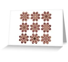Masculine Foot Flowers Greeting Card