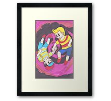 The Comedy and the Tragedy Framed Print