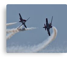 SNOWBIRDS - CROSSING PATHS Canvas Print