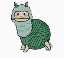 Yarn Alpaca - Green Kids Clothes